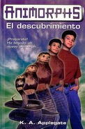 Animorphs 20 the discovery El descubrimiento spanish cover Ediciones B
