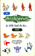Animorphs 33 illusion italian stickers adesivi