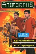 Animorphs 45 revelation rivelazione italian cover