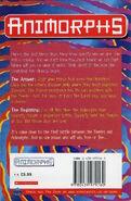 Animorphs 53 54 the answer the beginning UK back cover