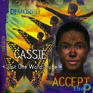 Animorphs Alliance poster Cassie close up