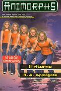 Animorphs book 48 return ritorno italian cover