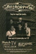 Watch animorphs on tv from book 33