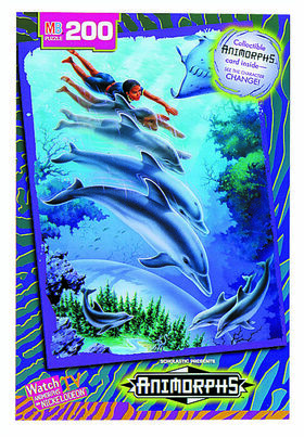 4228 A Animorphs Cassie Dolphin Jigsaw Puzzle Catalog image