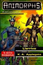 Animorphs 38 the arrival l arrivo italian cover