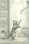 Tobias morphed as dude cat string book 1 the invasion japanese illustration