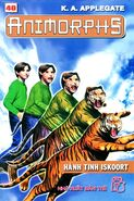 Animorphs 26 the attack Hành tinh ISKOORT vietnamese cover book 40