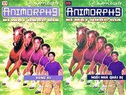 Animorphs 14 the unknown Bí mật quốc gia vietnamese covers books 27 and 28