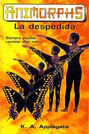 Animorphs 19 the departure La Despedida spanish cover Ediciones B