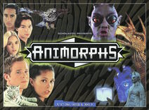 Animorphs customizable card game Set one Cassie Jake box front