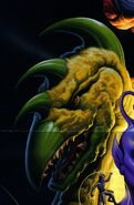 Hork bajir from animorphs aliens poster