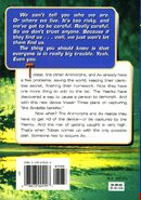 Animorphs 33 illusion back cover