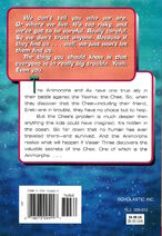 Animorphs 27 the exposed back cover
