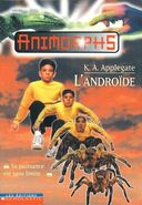 Animorphs 10 the android L androide french canadian cover les editions scholastic