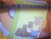 Vegemorphs book arthur