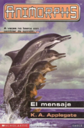 Animorphs 4 the message el mensaje spanish cover emece