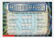 Animorphs book 31 conspiracy postcard