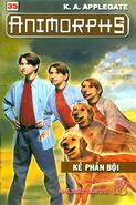 Animorphs 21 the threat Kẻ phản bội vietnamese cover book 35