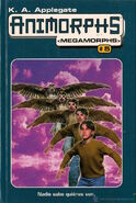 Animorphs meg 5 books 13-15 spanish cover ediciones B