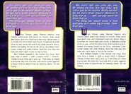 Animorphs 3 the encounter 2 back covers earlier and later printing