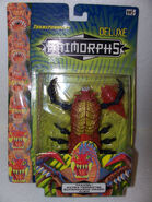Taxxon alien transformer in packaging