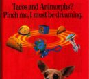 Animorphs Fast Food Merchandise