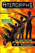 Animorphs 19 the departure la partenza italian cover