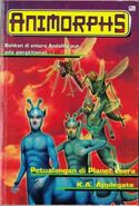 Animorphs book 18 indonesian cover
