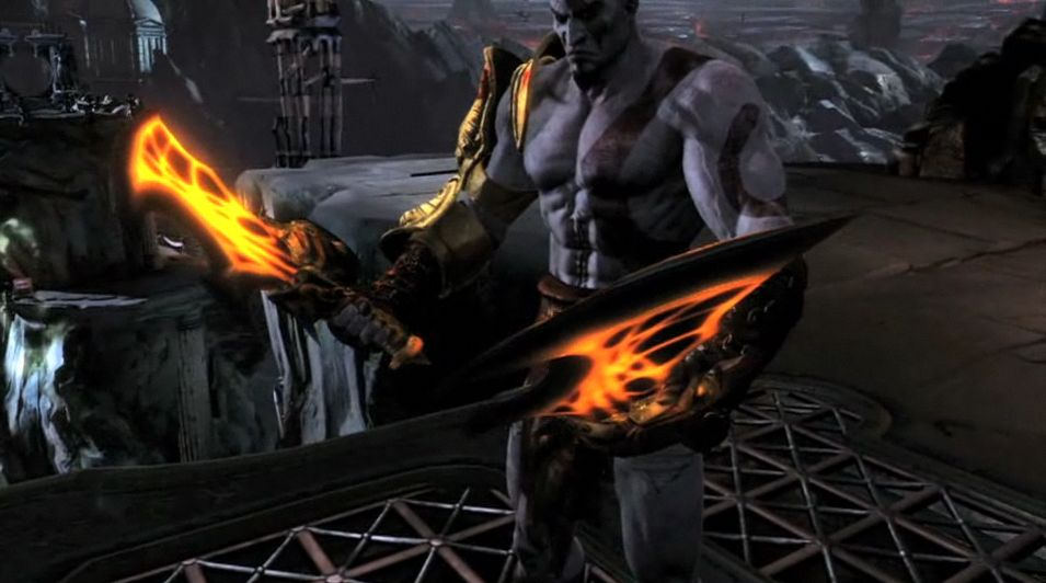 God Of War 3 Blades Of Exile User blogVegito770Death Vs