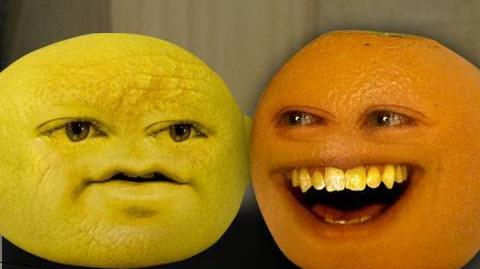 Annoying Orange Grandpa Lemon