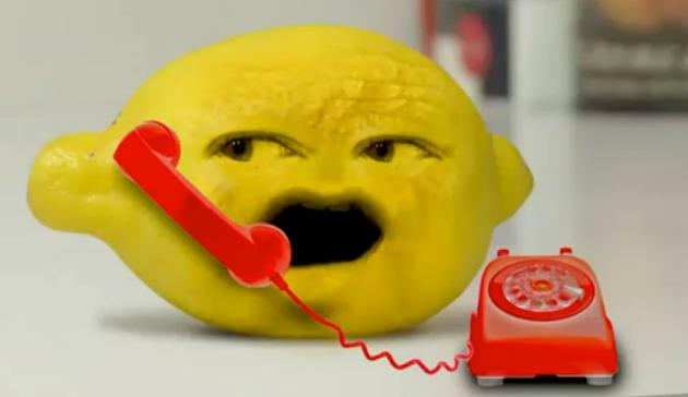 annoying orange grandpa lemon - photo #20