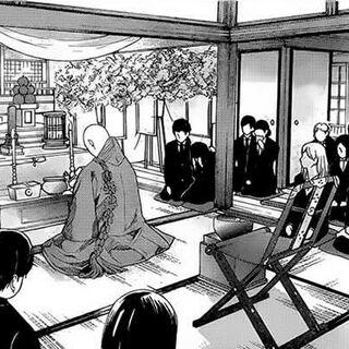 Ryoko's funeral