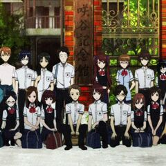 Kouichi in the group picture. He's, rather ironically, between Takako and Mei.