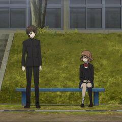 Yukari and Kouichi both sit out PE.