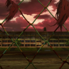 Yomiyama North Middle School in the opening song.