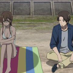 Matsunaga and Reiko's talk