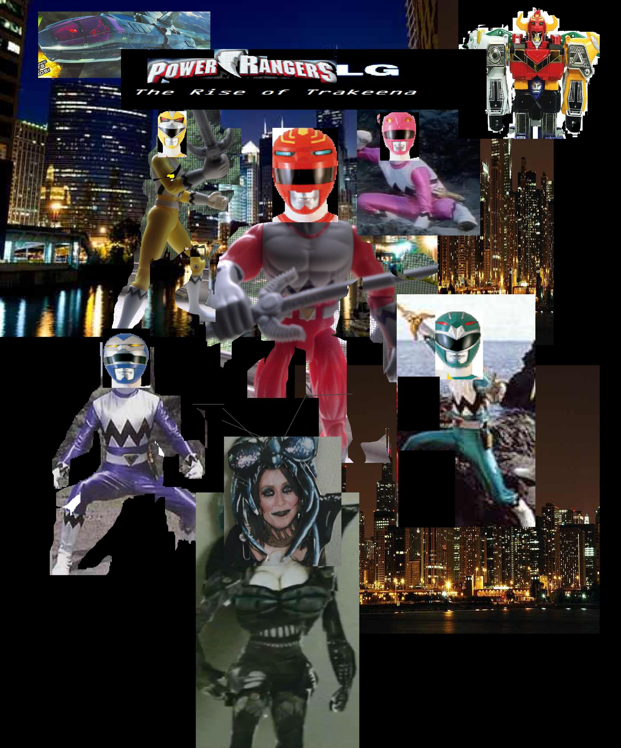power rangers lost galaxy the rise of trakeena the ultimate