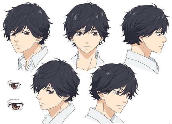 ao Haru Ride Character Profiles Kou From ao Haru Ride
