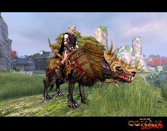 Bronzefury War Wolf