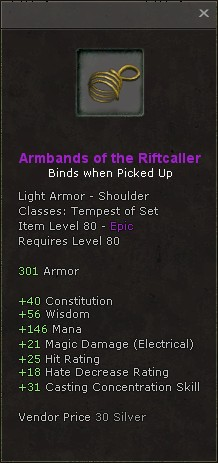 Armbands of the riftcaller