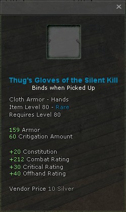Thugs gloves of the silent kill
