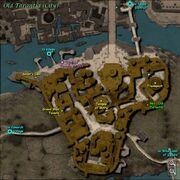 Old Tarantia Zone Map