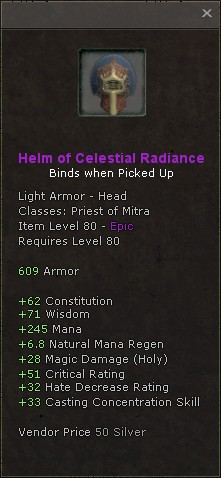 Helm of celestial radiance