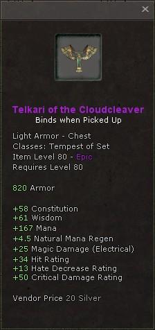Telkari of the cloudcleaver