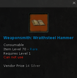 File:Weaponsmith Recipe Wraithsteel Hammer 70 rare.png