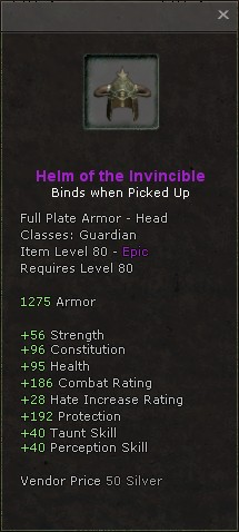 Helm of the invincible