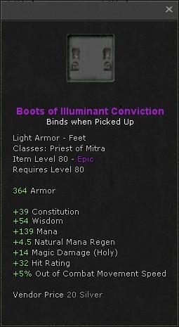 Boots of illuminant conviction
