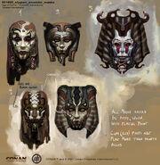 001695 stygian ancestor masks