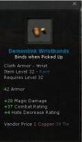Demonlink wristbands