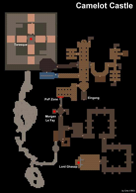 Camelot castle map